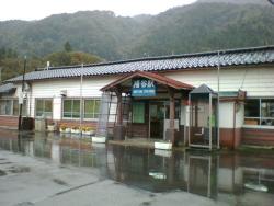 JR高山本線・猪谷駅