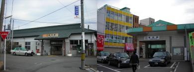 JRと近鉄の富田駅