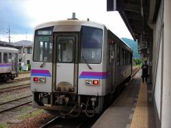 福塩線のキハ120