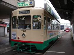 富山地鉄デ7000
