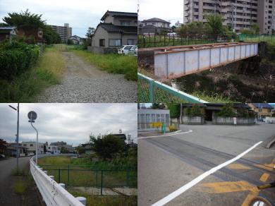 富山港線廃線跡