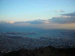 摩耶山上からの眺望