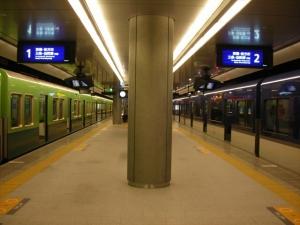 中野島駅ホーム