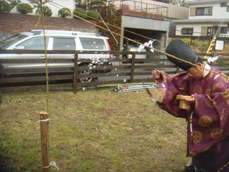 松田邸地鎮祭