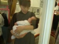 オーナーと赤ちゃん