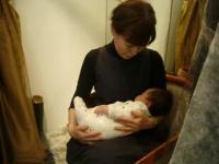 オーナーと赤ちゃん2