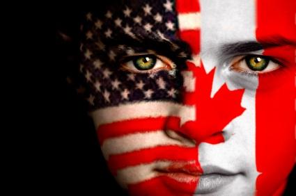 アメリカ人vsカナダ人