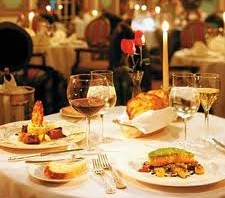高級レストランとナポレオン・ブランデー