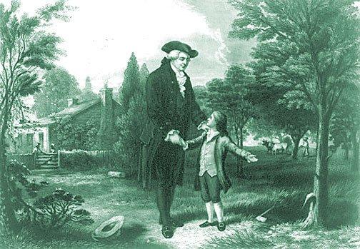 ジョージ・ワシントンの逸話