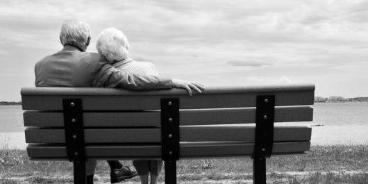 老夫婦|高齢の結婚