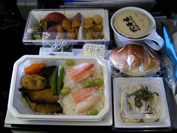 香港線、全日空 機内食