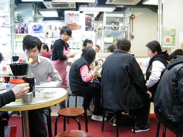 劉森記(蝦麺)