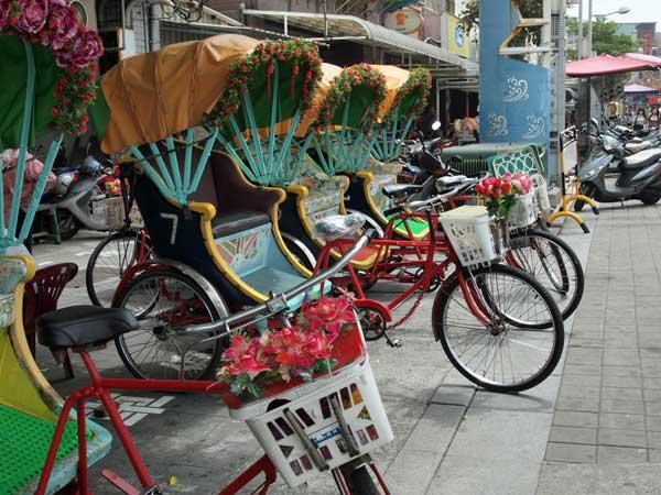 旗津、観光自転車