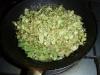 サラダオイルで炒める