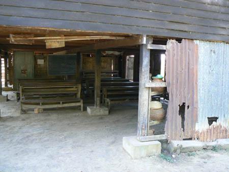 老朽化した校舎