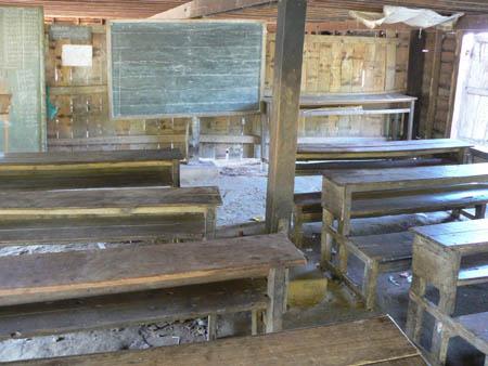 1階の土間教室