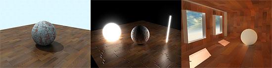 【3DCG】 mentalRayのチュートリアル3つ。基本、ボリューム&エリアライト、室内