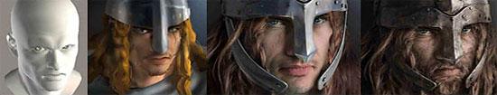 【2DCG】 そうやって描いてたのね。『中世の鎧を身にまとった戦士』チュートリアル