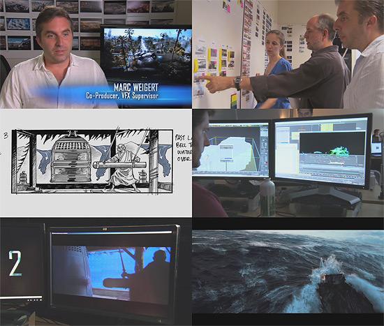 Industrial Light And Magic News: 【3DCG】 映画『2012』の波に関するメイキング映像