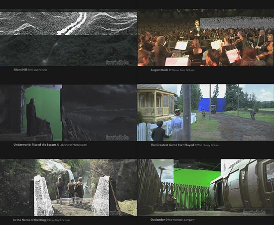 【3DCG】 サイレントヒルやアンダーワールド等を手がけたINVISIBLE VFXのデモリール