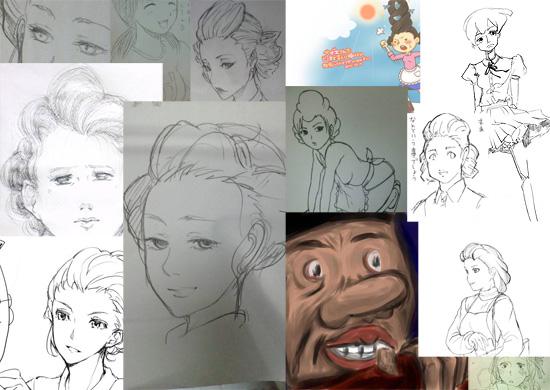 【その他】 2ch『サザエさんをどこまで美人に描けるか、挑戦してみようぜwww』