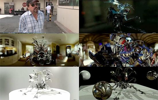 【3DCG】 CG Channelによる『トランスフォーマー/リベンジ』のインタビュー、メイキング映像