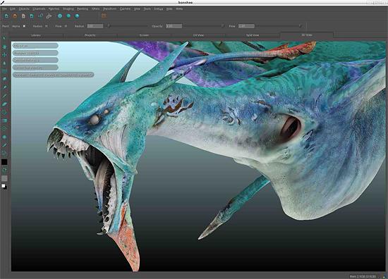 【3DCG】 Wetaが開発したテクスチャーペイントツール『MARI』 The Foundryから発売