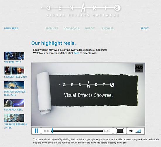 【3DCG】 映画でも使われる綺麗なエフェクト盛り沢山!GenArts『Sapphire Plug-ins』の2010デモリール