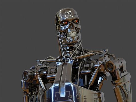 3dsMax リグ付きのフリーのモデル!『Terminator T-800』