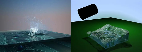 完全に水のお知らせ3ds maxプラグイン『Phoenix FD』で泡表現が可能に
