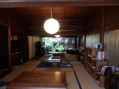 古民家再生のカフェ