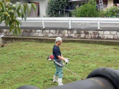 今日も草刈
