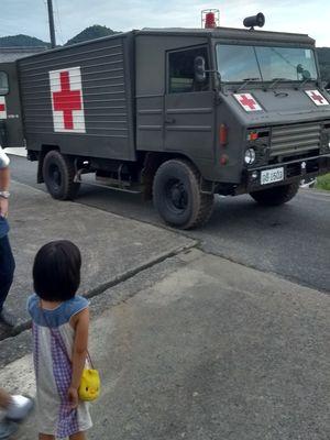 自衛隊物資輸送車