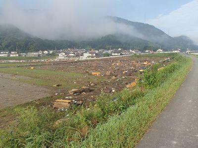 小田川土手から八高全景