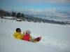 雪畑散歩1