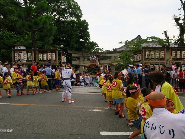 茨木神社前道路