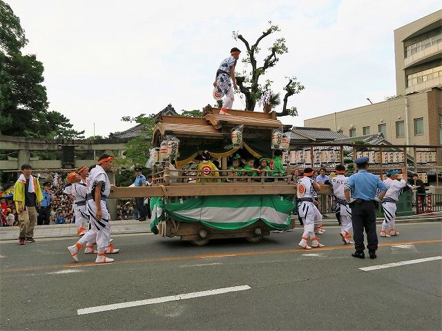 茨木神社だんじり