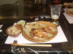 お肉屋さんでお食事3
