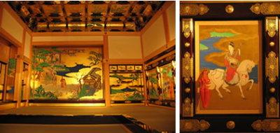 熊本城の「本丸御殿大広間」の復元作業2