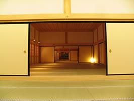 熊本城の「本丸御殿大広間」の復元作業3