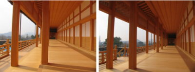 熊本城の「本丸御殿大広間」の復元作業4