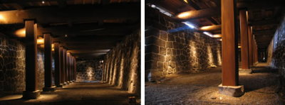 熊本城の「本丸御殿大広間」の復元作業8