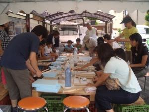 夏休み子供木工教室3