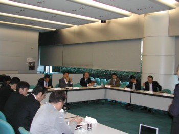 2009年1月度 関東SW会会長会1