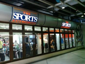 スポーツショップでお買い物