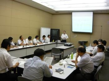2009年7月度 関東SW会会長会1
