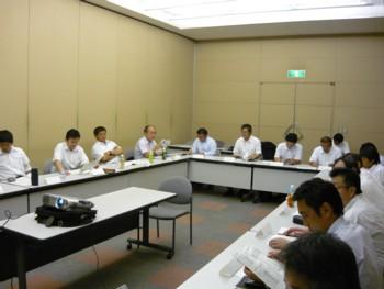 2009年7月度 関東SW会会長会2