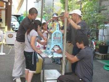 2009年 夏休み子供木工教室4