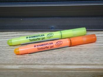 クレヨンのような蛍光ペン2