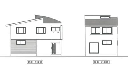 『喜沢の家』上棟1